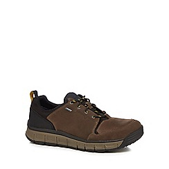 Clarks - Brown leather 'Edlund' walking boots
