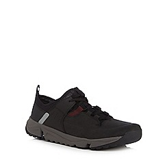 Clarks - Black 'Tritrack' trainers