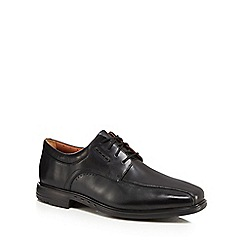 Clarks - Black leather 'Kenneth' lace up shoes