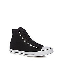 Converse - Black canvas 'Chuck Taylor All Star' high top trainers