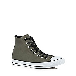 Converse - Khaki 'Chuck Taylor' high-top trainers