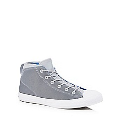 Converse - Grey 'Chuck Taylor All Star' hi-top trainers