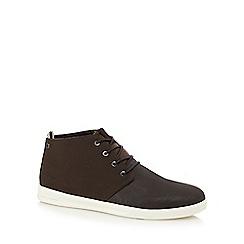 Jack & Jones - Dark brown 'Denton' chukka boots