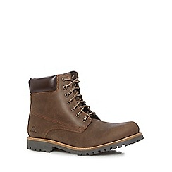 Chatham Marine - Brown leather 'Maguire 2' lace-up boots