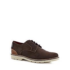Chatham Marine - Brown suede 'Dexter' Derby shoes