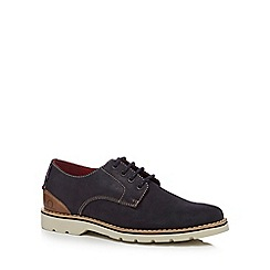 Chatham Marine - Navy suede 'Dexter 2' derby shoes