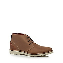 Chatham Marine - Light brown leather 'Ellis 2' chukka boots