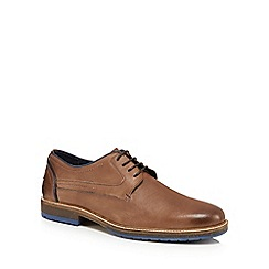 Chatham Marine - Brown leather 'Rubin' Derby shoes