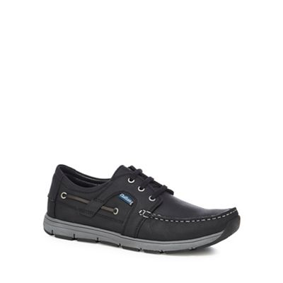 Online ExclusiveChatham Marine - Black leather 'Byron' lace up shoes