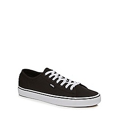 Vans - Black canvas 'Ferris' trainers