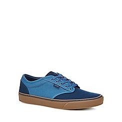 Vans - Blue 'Atwood' lace up trainers