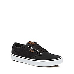 Vans - Black 'Atwood' lace up trainers
