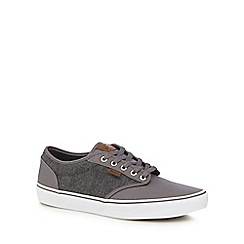 Vans - Grey canvas 'Atwood' trainers