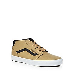 Vans - Tan 'Chapman' lace up trainers