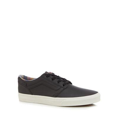 Vans - Black 'Chapman' lace up trainers