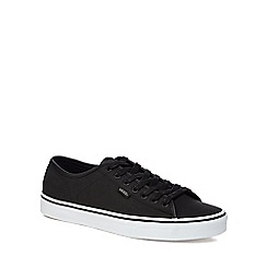 Vans - Black 'Ferris' lace up trainers