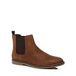 Original Penguin - Tan suede 'Lesta' Chelsea boots