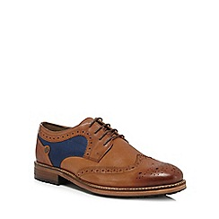 Original Penguin - Tan leather 'Sage' brogues