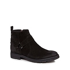 Base London - Black suede 'Hornet' boots