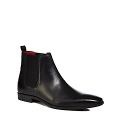 Base London - Black leather 'Guinea' Chelsea boots