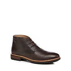 Ben Sherman - Brown leather 'John' chukka boots