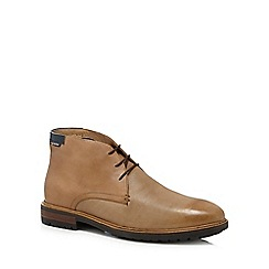Ben Sherman - Tan leather 'John' desert boots