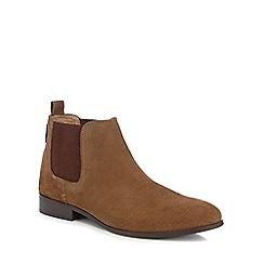 Ben Sherman - Tan suede Chelsea boots