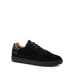 Ben Sherman - Black suede 'Heart' trainers