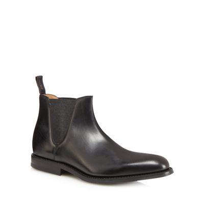 loake - ascot de chelsea chelsea chelsea bottes de cuir noir c2f6d5
