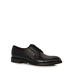 Loake - Black leather 'Ghost' Derby shoes