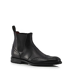 Loake - Black leather 'Hoskins' Chelsea boots