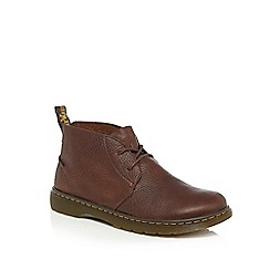 Dr Martens - Brown leather 'Ember' chukka boots