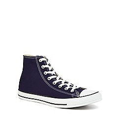 Converse - Navy 'Chuck Taylor All Star' hi-top trainers