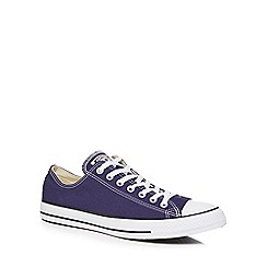 Converse - Navy 'Chuck Taylor' trainers
