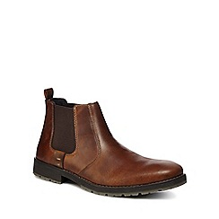 Rieker - Tan leather Chelsea boots