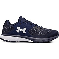 Under Armour - Navy 'Charged Rebel' running shoes
