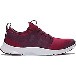 Under Armour - Red 'Drift Mineral' running shoes