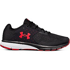 Under Armour - Black 'Charged Rebel' running shoes