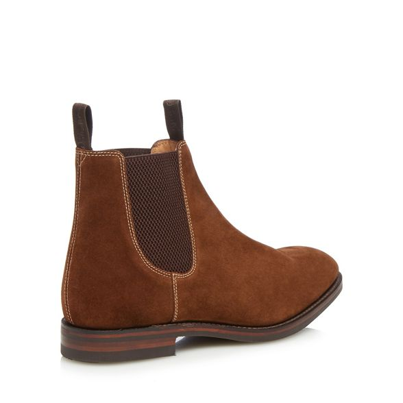 Chelsea Loake boots suede 'Chatsworth' Brown R7qXgP