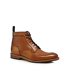 Loake - Brown 'Rookes' lace up boots