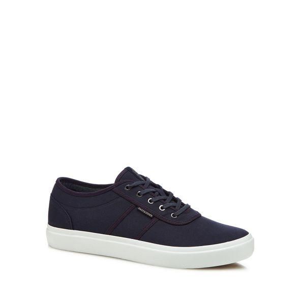 Jones trainers Jack Navy 'Austin' canvas amp; awHgRqvgx