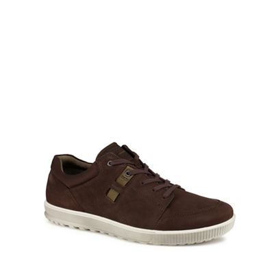 ECCO - Brown 'Ennio' trainers Fashionable and eye-catching shoes