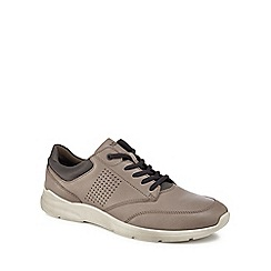 ECCO - Grey 'Irving' trainers