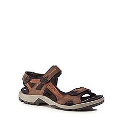 ECCO - Brown 'Offroad' sandals