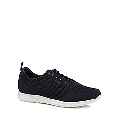 Geox - Navy 'Damian' knitted trainers
