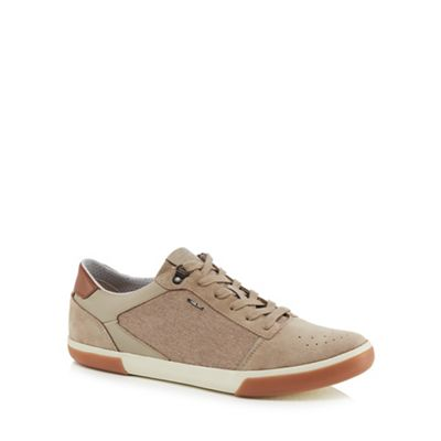 Geox - Natural 'Box' trainers Fashionable and eye-catching shoes