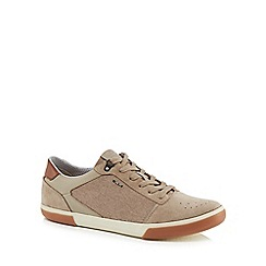 Geox - Natural 'Box' trainers