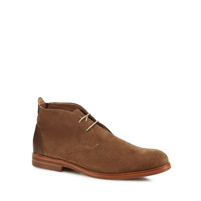 H suede By Hudson - Tan suede H 'Matteo' desert boots e90948