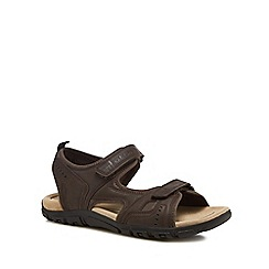 Geox - Brown 'Strada' walking sandals