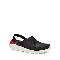 Crocs - Black 'Literide' sandals
